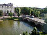 Dalla finestra della mia camera all' Hotel Hilton Strand
