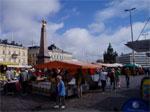 Il mercatino sul porto, dove ho fatto gli ultimi acquisti