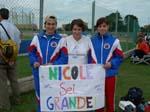 Nicole con il suo Fans Club