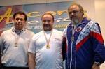 Michelangelo Bellantoni medaglia d'argento ai campionati italiani master indoor