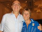 Riccardo con Anna Riccardi