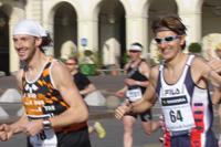 Diego Vairos e Marco Betassa in gara